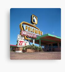 Palomino Motel Canvas Print