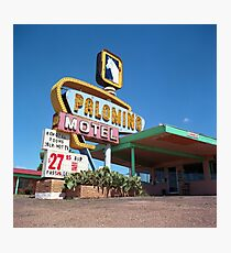 Palomino Motel Photographic Print