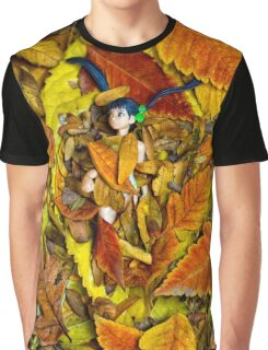 Autumn Anime  Graphic T-Shirt
