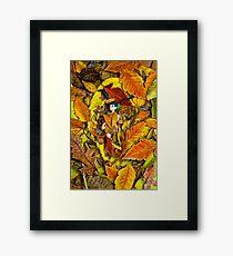 Autumn Anime  Framed Print