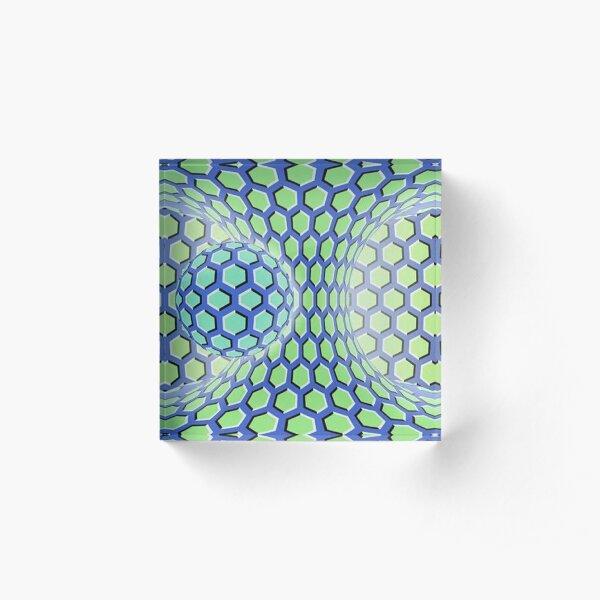 Motion Illusion Acrylic Block