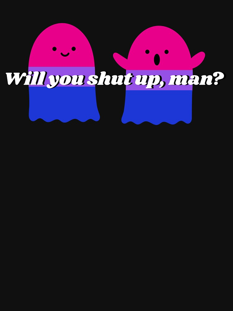 Will you shut up Halloween version design by ds-4