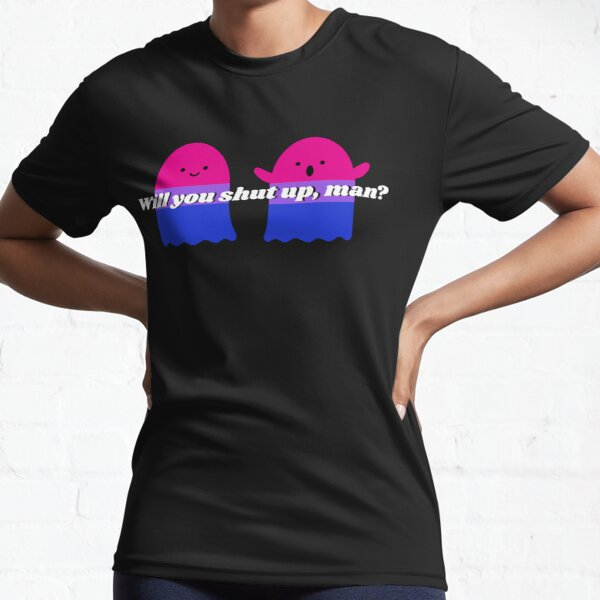 Will you shut up Halloween version design Active T-Shirt