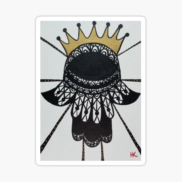 RBG Hamsa  by Harriette Knight Sticker