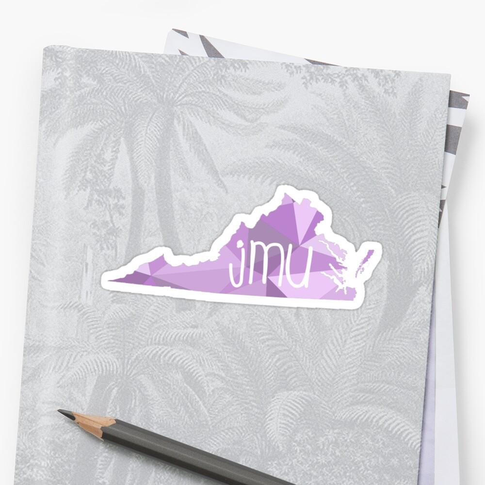 James Madison Universität Zusammenfassung Sticker Von Talia