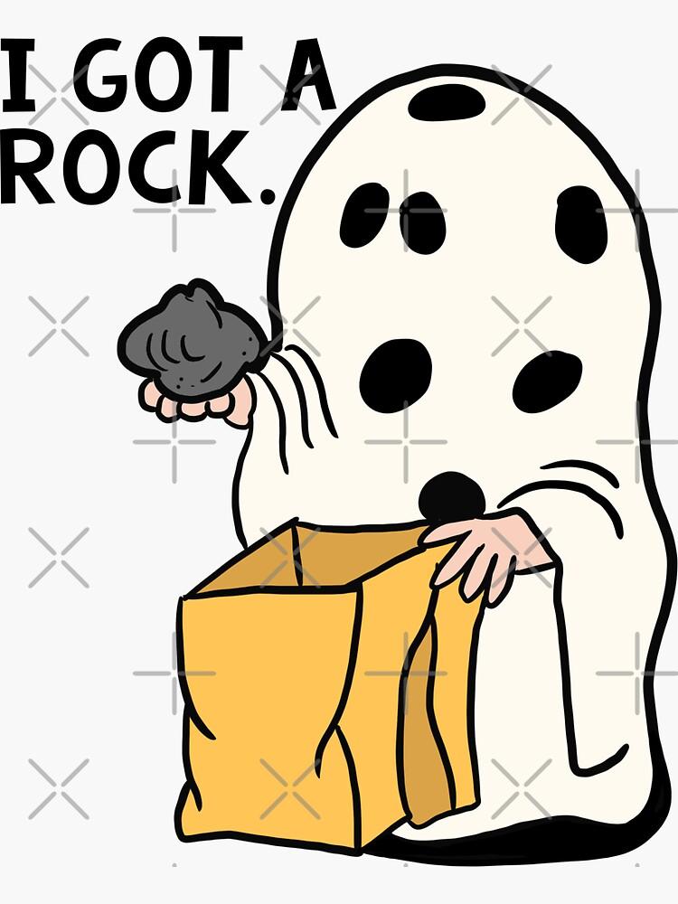 I got a rock Charlie Brown by marglaufenberg