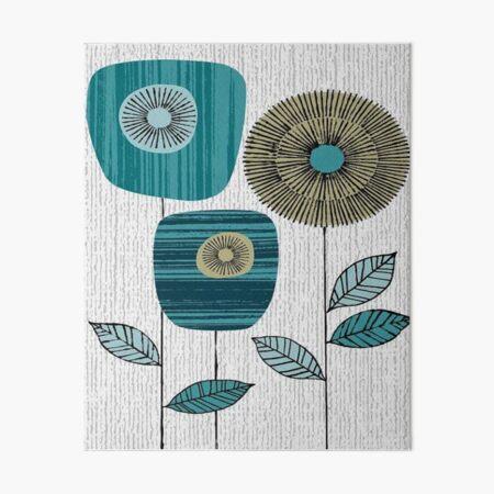 orla kiely fabric design  Art Board Print