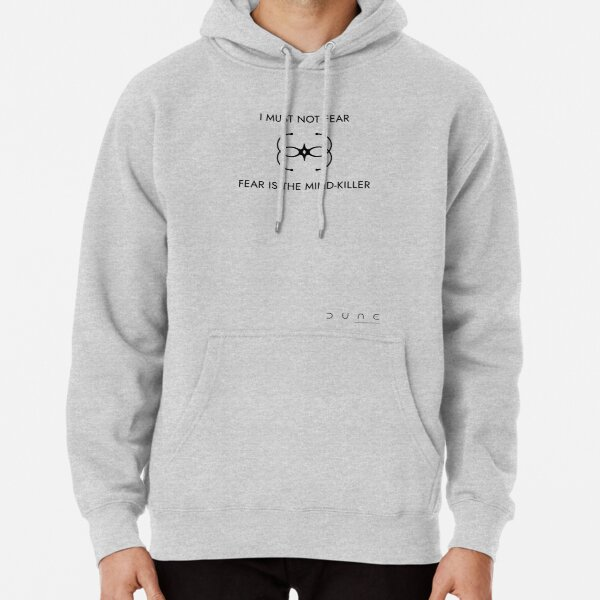 Bene Gesserit - I must not fear (light backgrounds) Pullover Hoodie