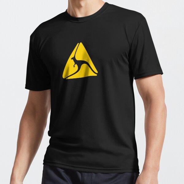Roo Warning Mask  Active T-Shirt