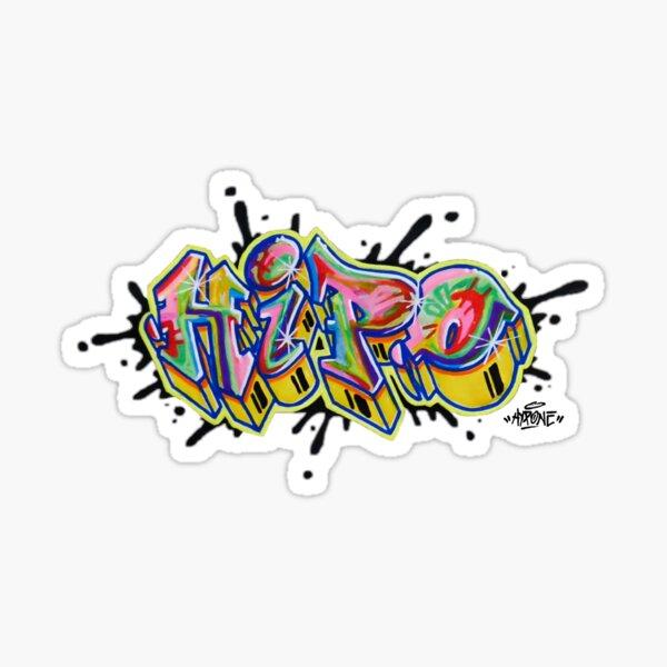 Hipo color splash Sticker