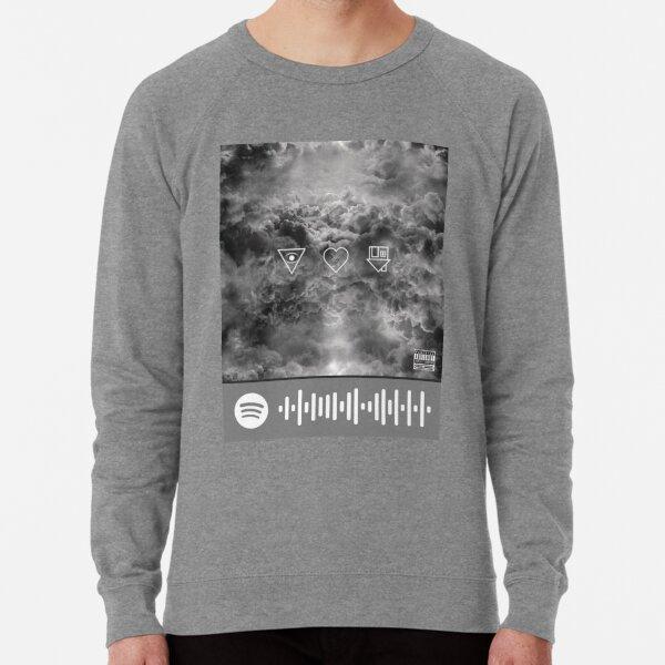 The Neighbourhood Sweater Weather Spotify scan tag Lightweight Sweatshirt