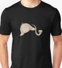 Sherlock Holmes Deer Stalker and Pipe Unisex T-Shirt