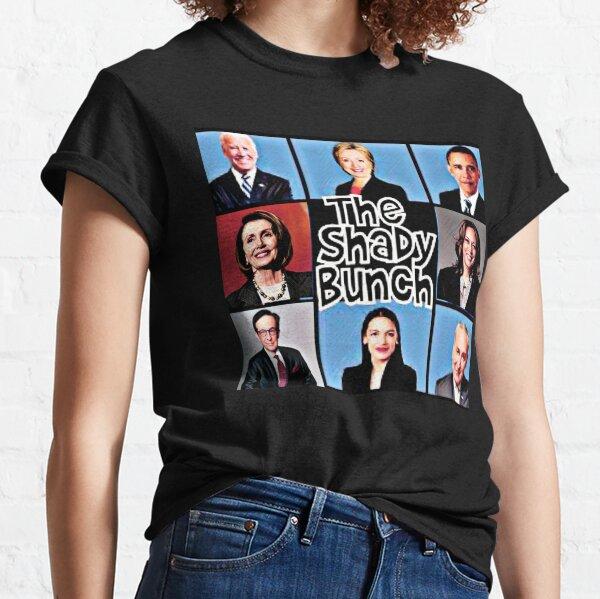 Funny Shady Bunch Trump 2020 Biden design Classic T-Shirt