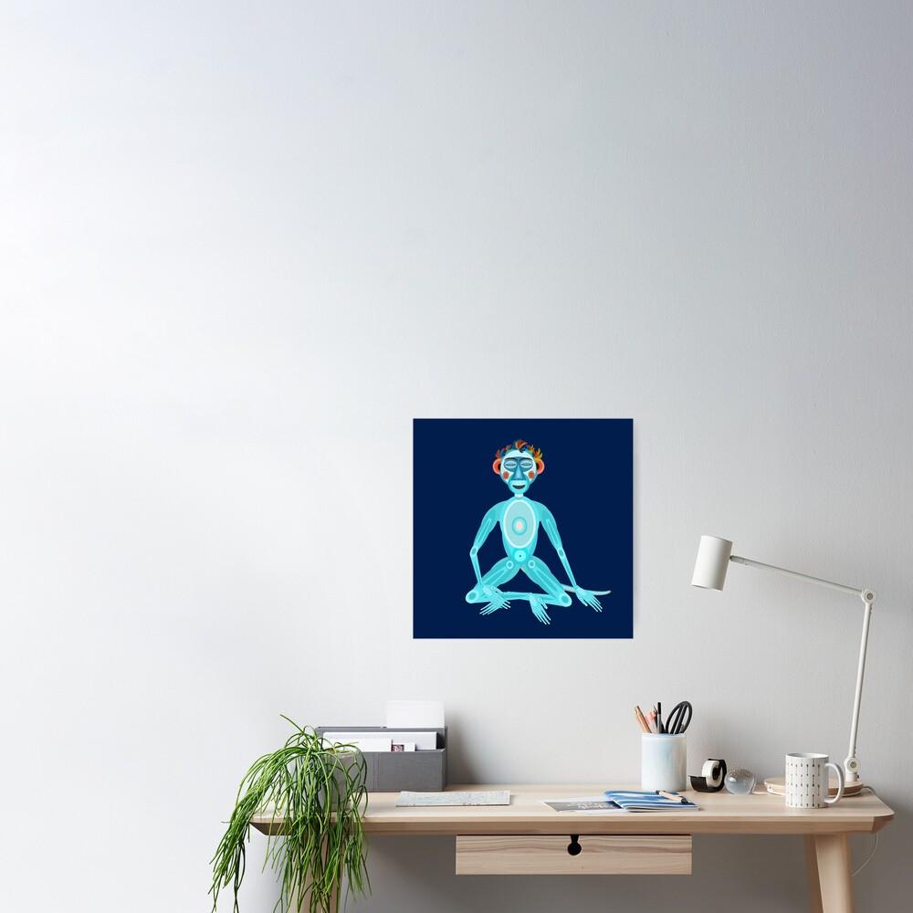 MOONKEY the Monkey - MEDITATION - BREATH Poster
