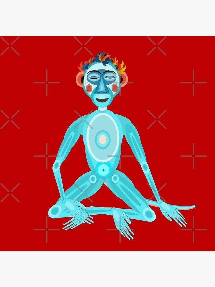 MOONKEY the Monkey - MEDITATION - BREATH by aremaarega