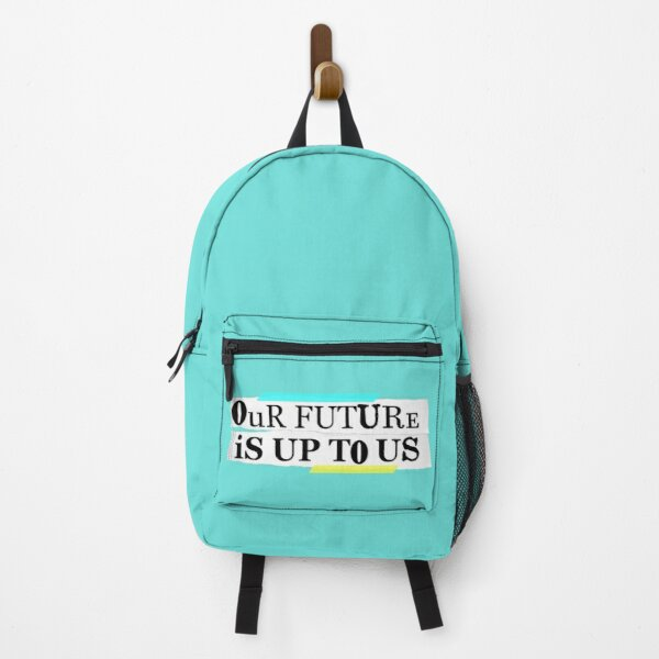 Enola Holmes Quote our future is up to us  Backpack