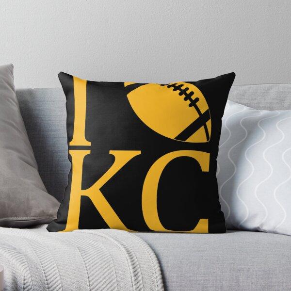 Sunday Funday I Love Kansas City Football Throw Pillow