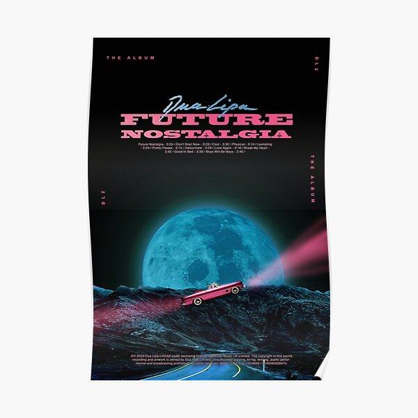 Dua MoonLipa Nostalgia Poster
