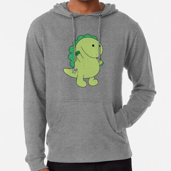 Pickle the Dinosaur  Lightweight Hoodie