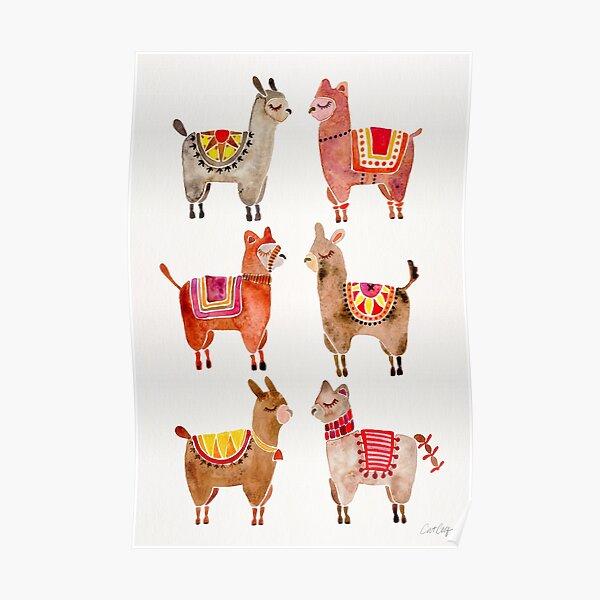 Alpacas Poster