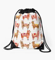 Alpacas Drawstring Bag