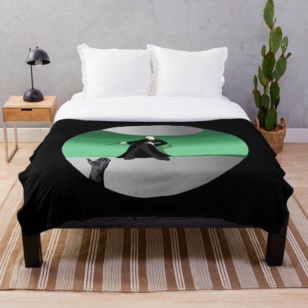 Green DM Robes FL Throw Blanket