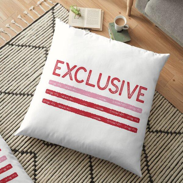 Exclusive Crimson Sticker Floor Pillow