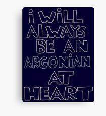 I'm an Argonian Canvas Print