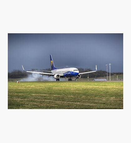 Touch Down Photographic Print