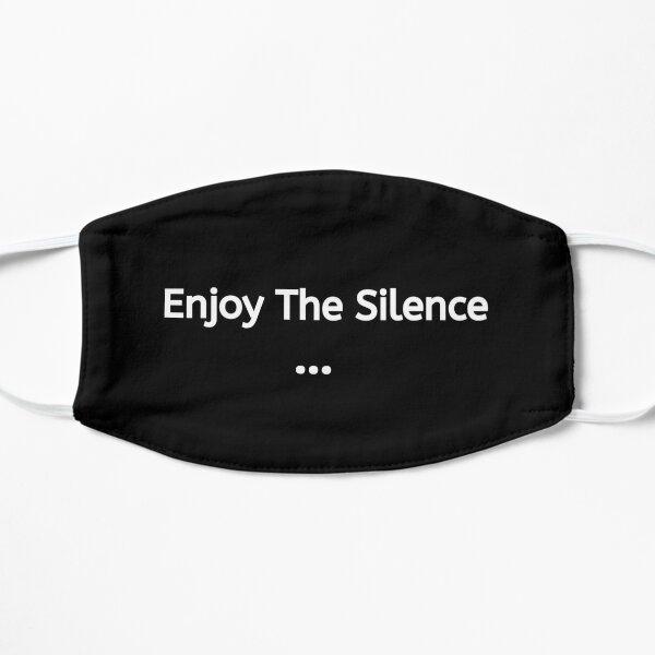 El silencio 3   Disfrute del silencio   Reutilizable y lavable   Máscara ideal   De color negro Mascarilla