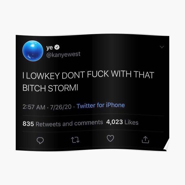 Kanye Tweet Poster