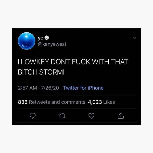 Kanye Tweet Photographic Print