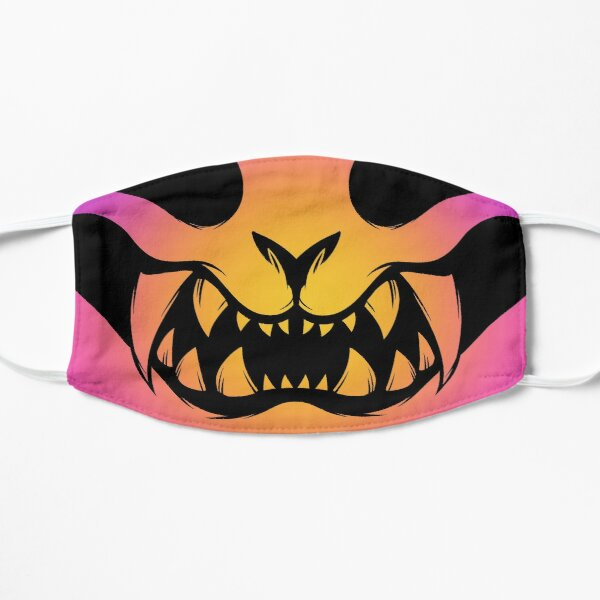 Neon Sunset Oni Mask