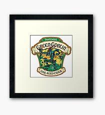 Green Goblin Framed Print
