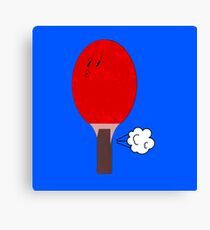Ping Pong Canvas Print