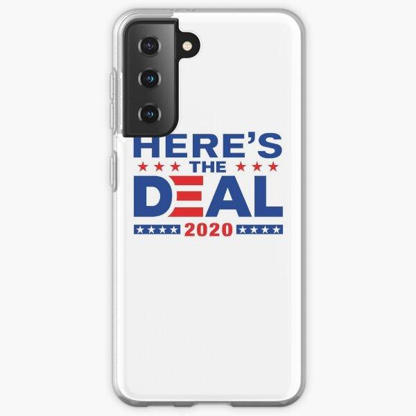Here's The Deal Biden Trump Debate Mix WTFBrahh Samsung Galaxy Soft Case