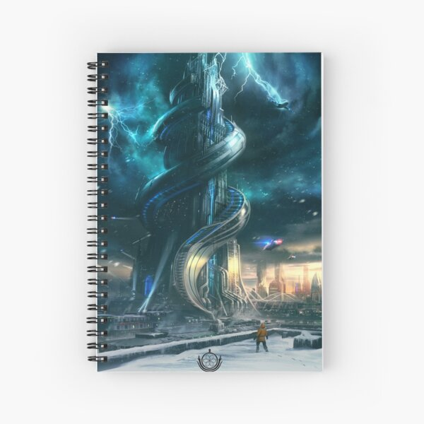 Consortium The Tower Spiral Notebook