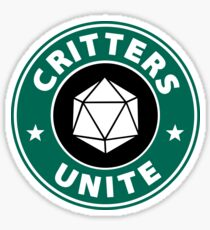 Critters Unite! - Critical Role Fan Design Sticker