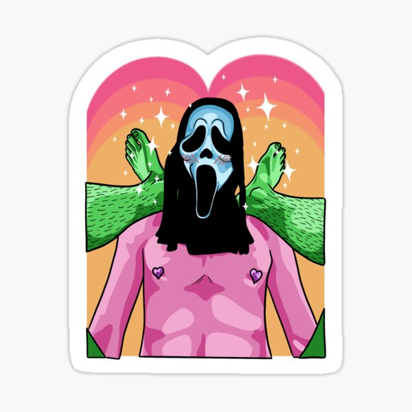 spooky time Sticker