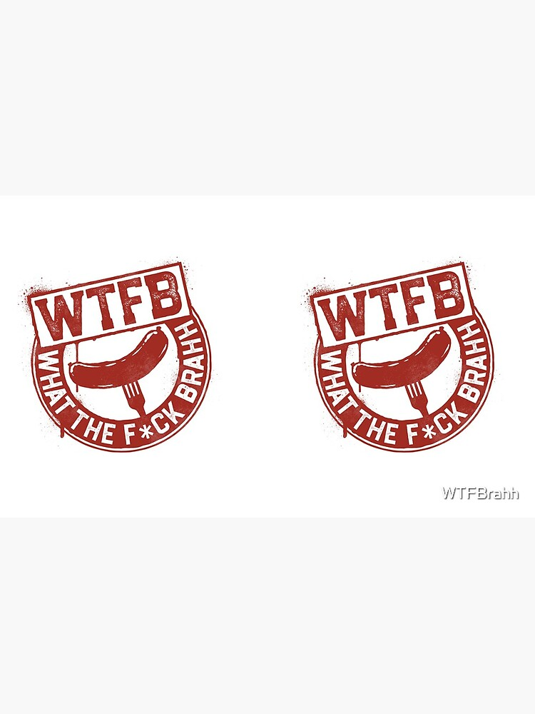Official WTFBrahh Logo Mug by WTFBrahh