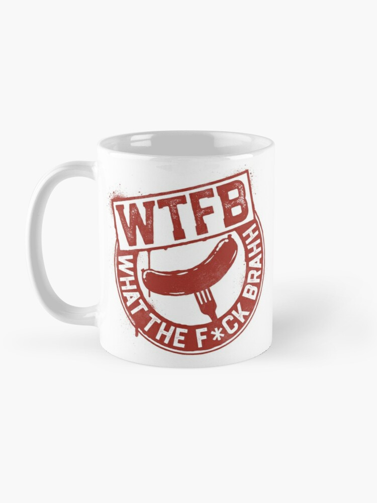 Alternate view of Official WTFBrahh Logo Mug Mug
