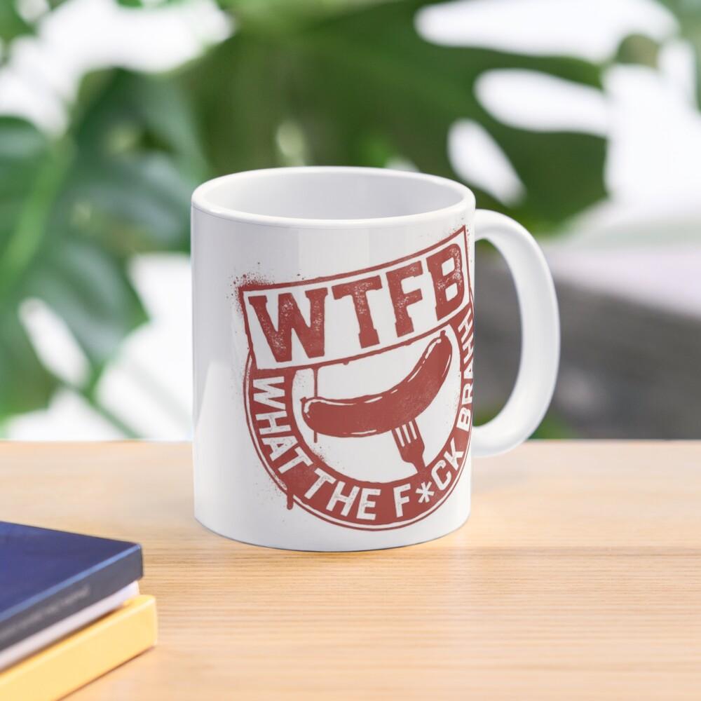 Official WTFBrahh Logo Mug Mug