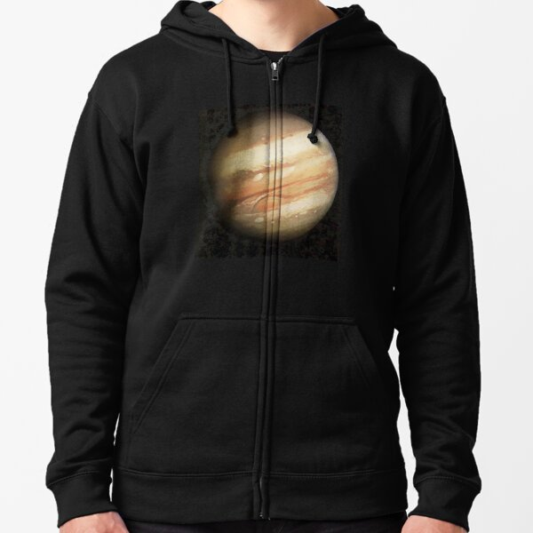 Jupiter Painting Zipped Hoodie