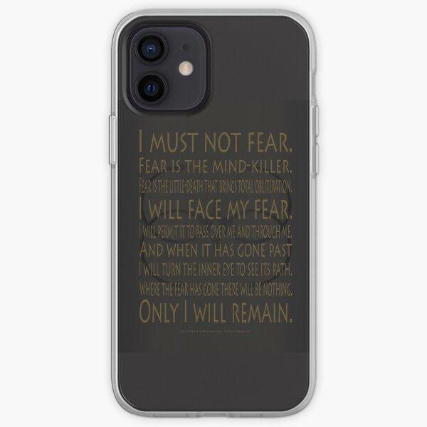 Litany I Must Not Fear and Bene Gesserit Symbol Art Design Gradient - Dune (2020 film) iPhone Soft Case