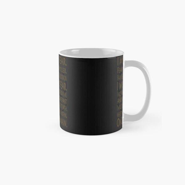 Litany I Must Not Fear and Bene Gesserit Symbol Art Design Gradient - Dune (2020 film) Classic Mug