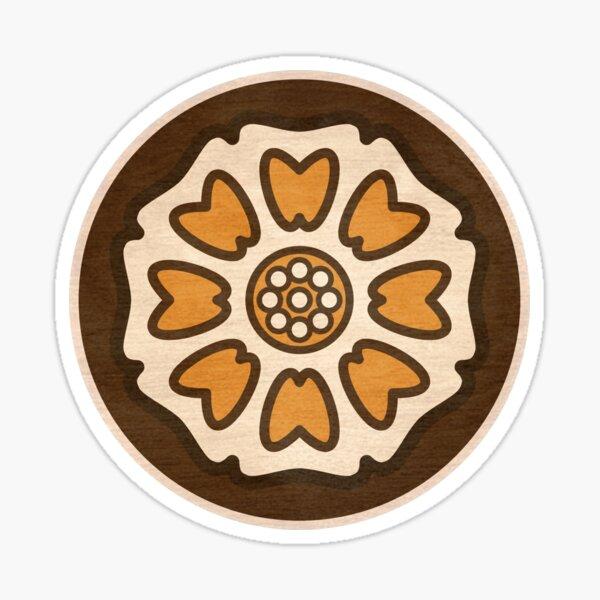 Pai Sho White Lotus Tile Sticker