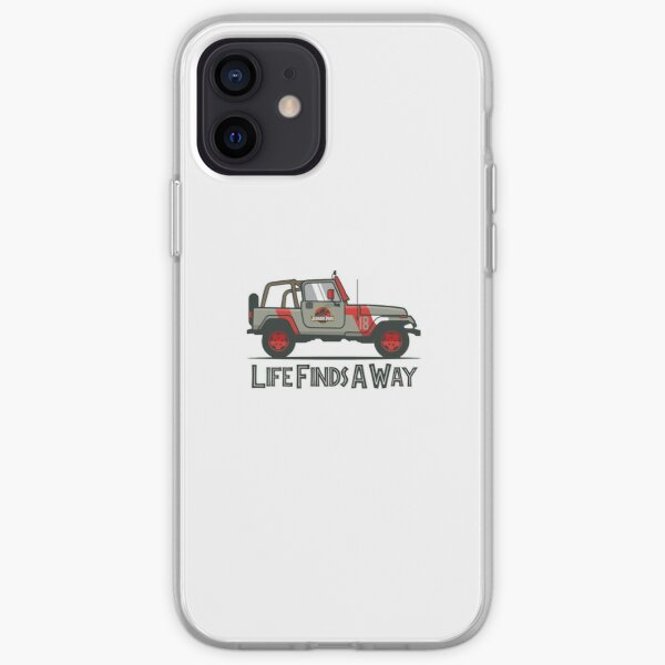 Jurassic Park - Life Finds A Way iPhone Soft Case