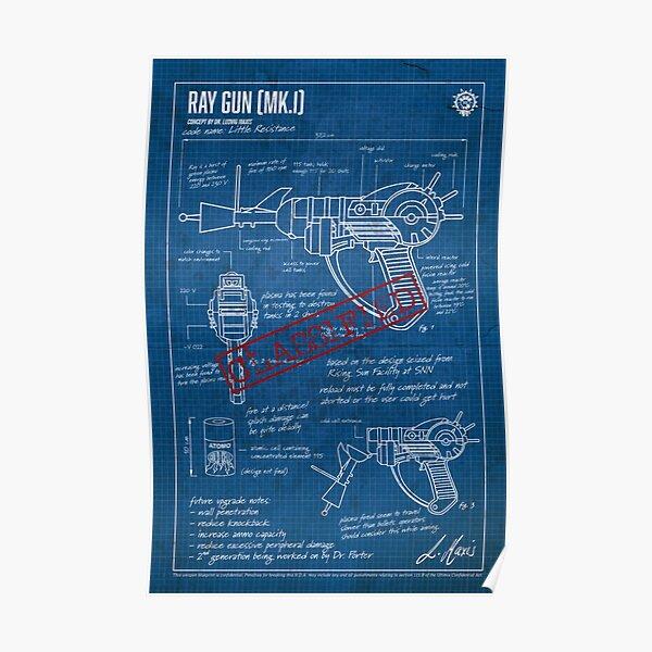 Ray Gun MK.I CLASSIFIED Poster
