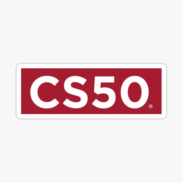 CS50 Sticker