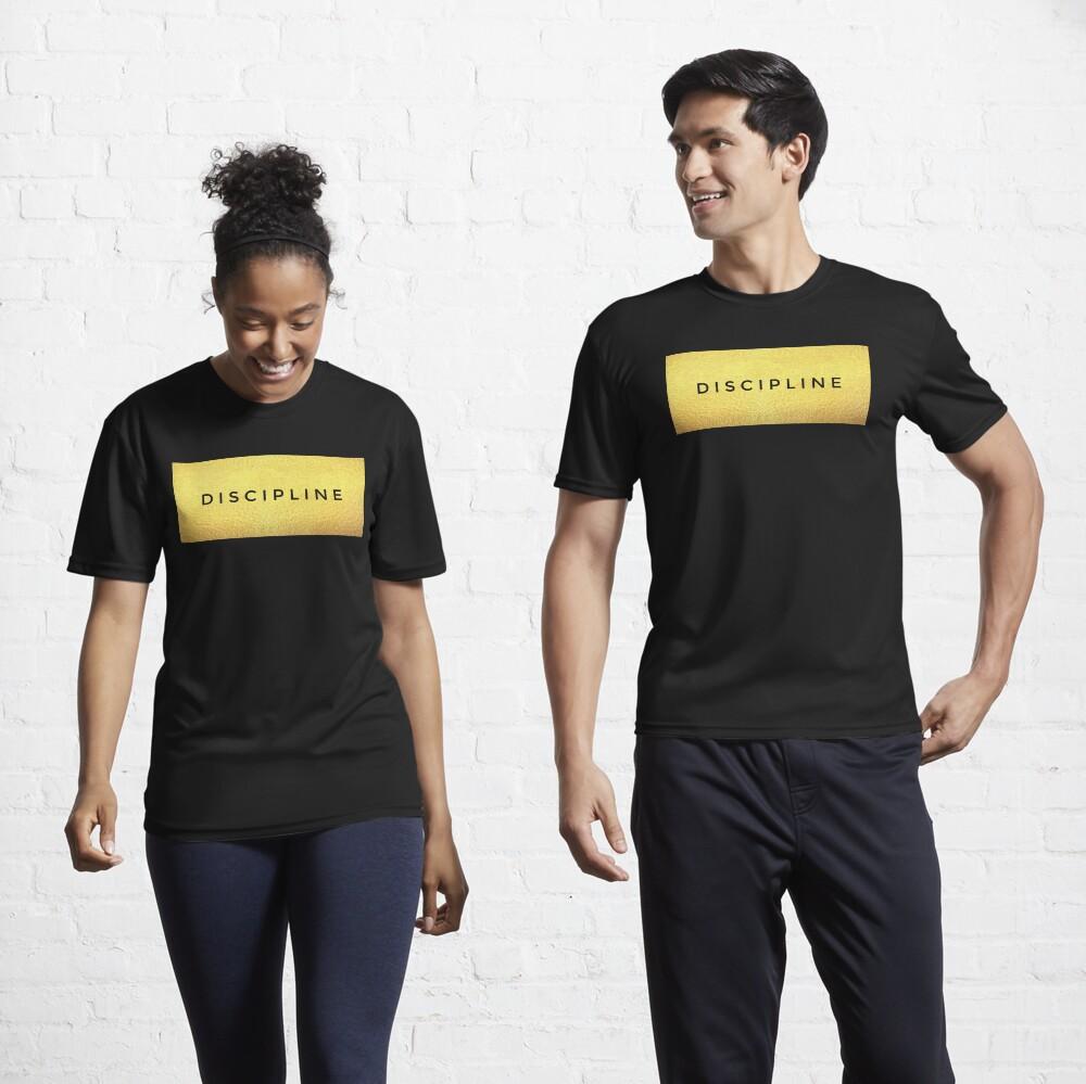 Discipline , hard work and dedication keys to success  Active T-Shirt